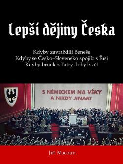 Lepší dějiny Česka obálka knihy