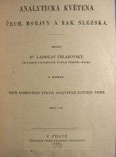 Analytická květena Čech, Moravy a Rak. Slezska