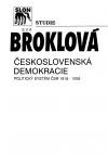 Československá demokracie. Politický systém ČSR 1918 - 1938