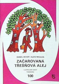 Začarovaná třešňová alej obálka knihy