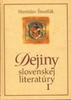Dejiny slovenskej literatúry I.