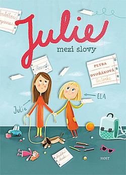 Julie mezi slovy obálka knihy