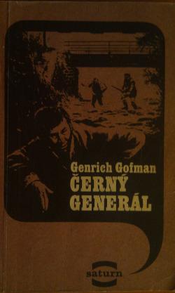 Černý generál obálka knihy