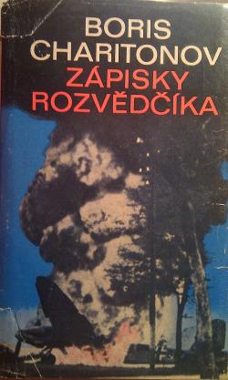 Zápisky rozvědčíka obálka knihy