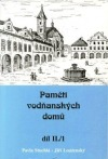 Paměti vodňanských domů II/1 : 1648-1857