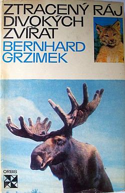 Ztracený ráj divokých zvířat obálka knihy