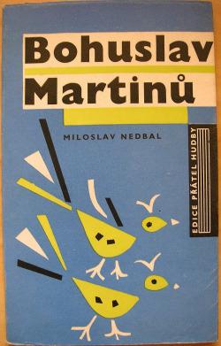 Bohuslav Martinů obálka knihy