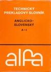 Anglicko-slovenský technický slovník 1. A - J