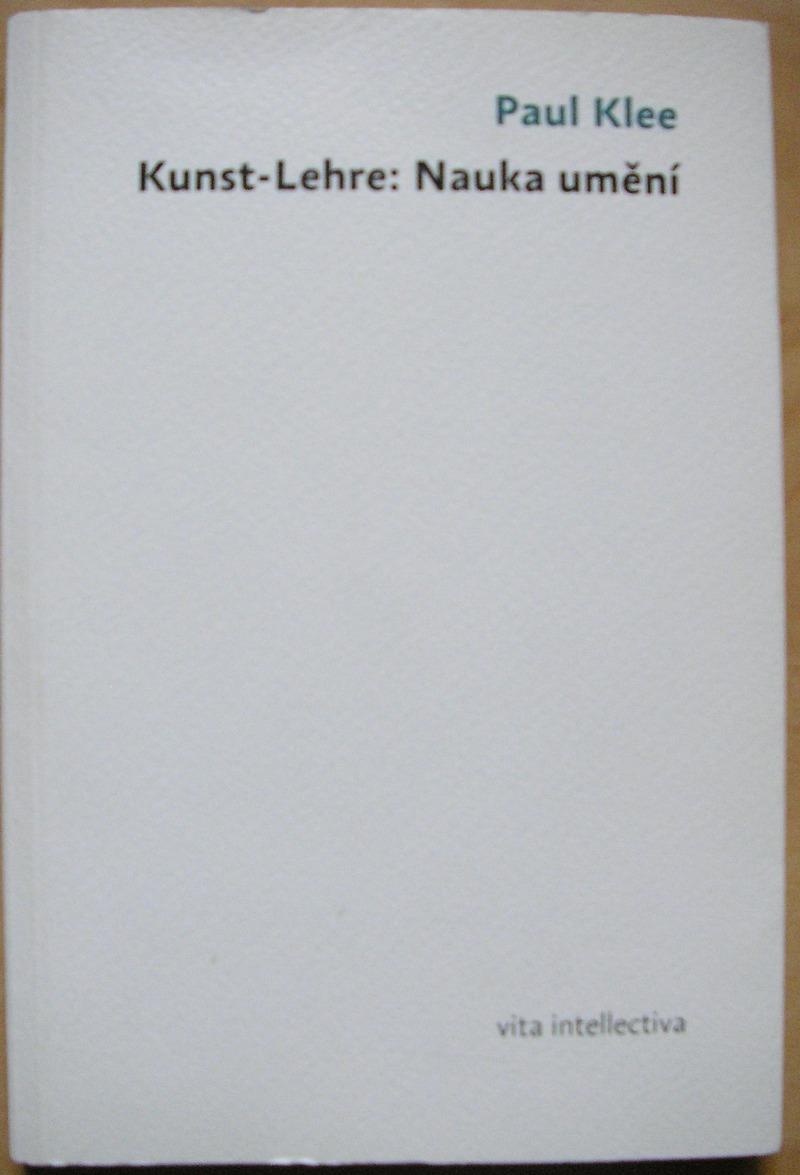 Kunst Lehre Nauka Uměn Paul Klee