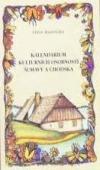 Kalendárium kulturních osobností Šumavy a Chodska