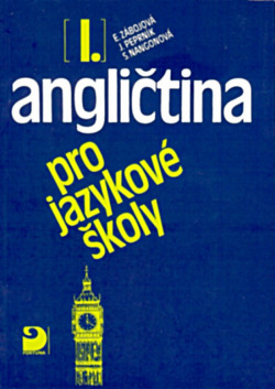 Angličtina pro jazykové školy I. obálka knihy