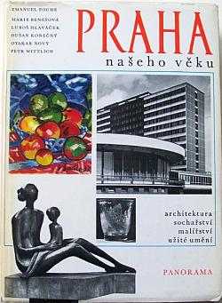 Praha našeho věku (čtvero knih o Praze) obálka knihy