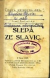 Slepá ze Slavic