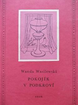 Pokojík v podkroví obálka knihy