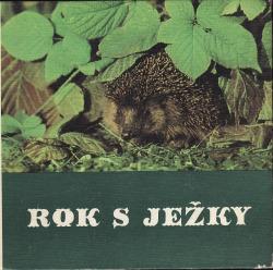 Rok s ježky obálka knihy