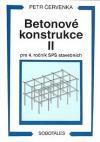 Betonové konstrukce lI pro 4. ročník SPŠ stavebních