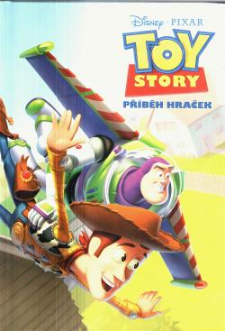 Toy Story - Příběh hraček obálka knihy