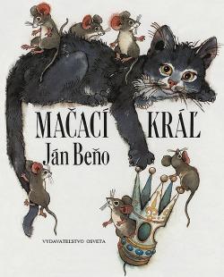 Mačací kráľ obálka knihy