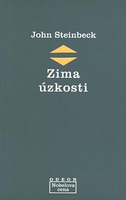 Zima úzkosti obálka knihy