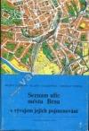 Seznam ulic města Brna s vývojem jejich pojmenování