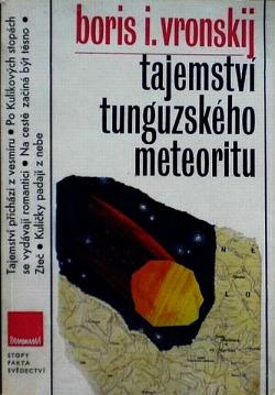 Tajemství tunguzského meteoritu obálka knihy