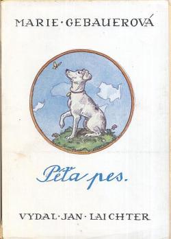 Péťa pes obálka knihy
