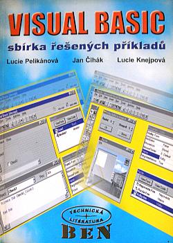 Visual Basic sbírka řešených příkladů obálka knihy