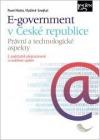 E-government v České republice: právní a technologické aspekty