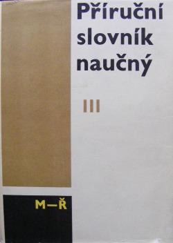 Příruční slovník naučný III. díl (M-Ř)