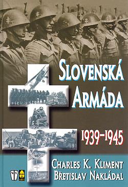 Slovenská armáda 1939 - 1945 obálka knihy