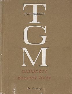 Masarykův rodinný život obálka knihy