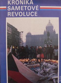 Kronika sametové revoluce obálka knihy