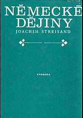Německé dějiny obálka knihy