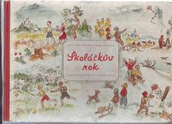 Školáčkův rok obálka knihy