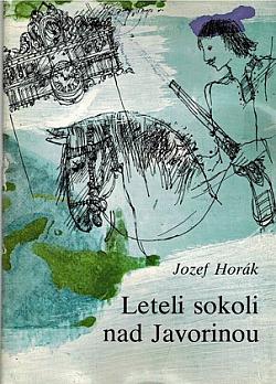Leteli sokoli nad Javorinou obálka knihy