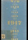 Světové dějiny v datech II.