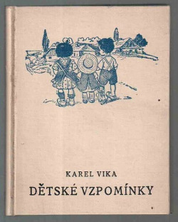 Dětské vzpomínky I. obálka knihy
