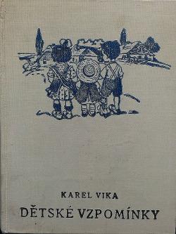 Dětské vzpomínky II. obálka knihy