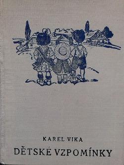 Dětské vzpomínky III. obálka knihy