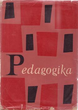 Pedagogika obálka knihy