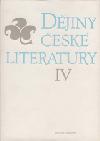 Dějiny české literatury IV. - Literatura od konce 19. století do roku 1945