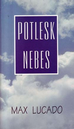 Potlesk nebes obálka knihy