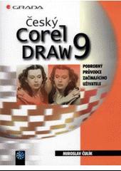 Český CorelDRAW 9 obálka knihy