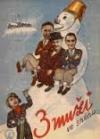 Tři muži ve sněhu