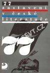 77 zastavení v české literatuře
