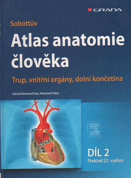 Sobottův atlas anatomie člověka - Reinhard Putz | Databáze knih