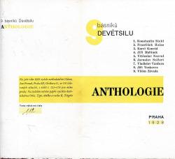 Anthologie. 9 básníků Devětsilu obálka knihy