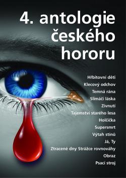 4. antologie českého hororu obálka knihy
