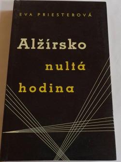 Alžírsko nultá hodina obálka knihy