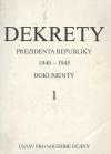 Dekrety prezidenta republiky 1940 - 1945